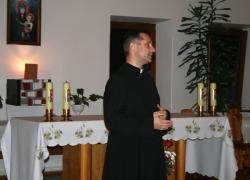 о. Віктор, вечірня молитва