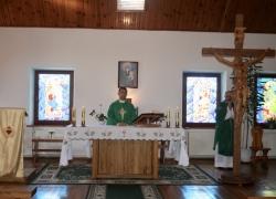 Початок навчального року, о. ректор Віктор Білоус очолює Літургію