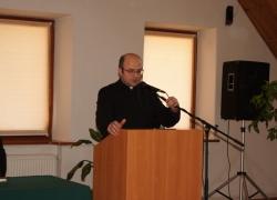 о. Сергій Хитрий представляє оновлений навчальний статут Інституту Богословських наук